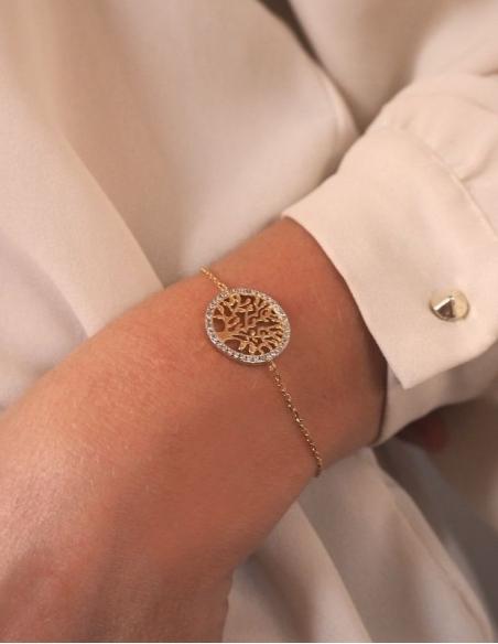 Bracelet fantaisie arbre de vie