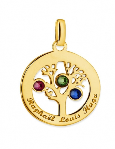 Collier en or arbre de vie