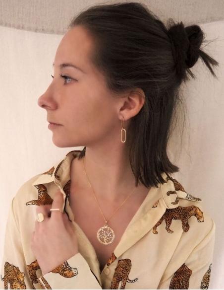 Pendentif arbre de vie femme en or