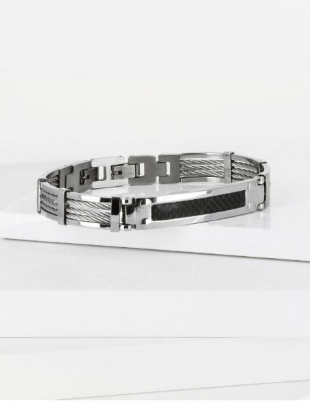Bracelet acier inoxydable marin