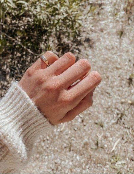 Bague petit doigt femme