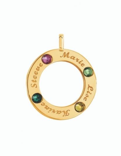 Collier prénom en or 9 carats