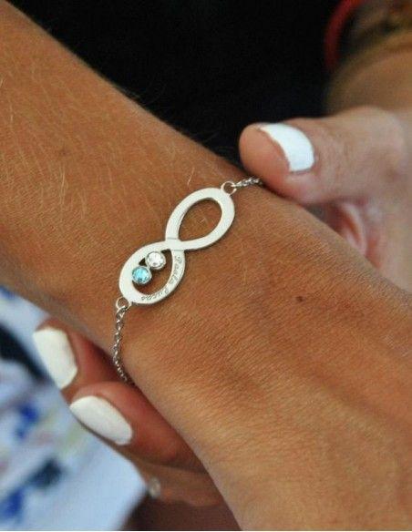 Bracelet prénom argent